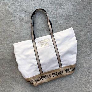 Victoria's Secret Over Night Tote Bag Like New!